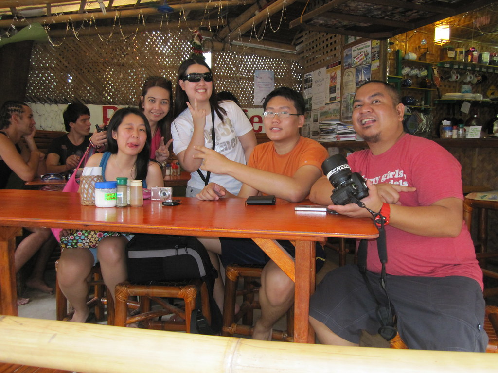 Bloggers at Real Coffee Boracay