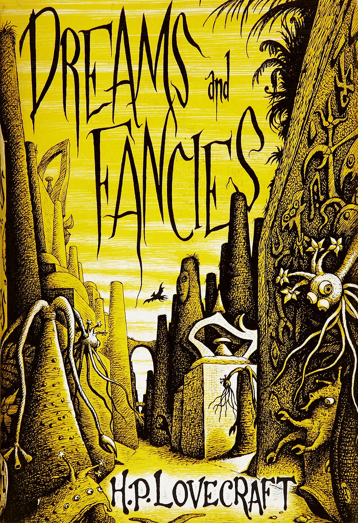 Richard Taylor (Cover Illustration) H. P. Lovecraft. Dreams and Fancies. Sauk City- Arkham House, 1962