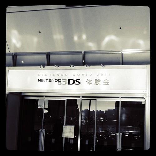 3DS 体験会にやってきた