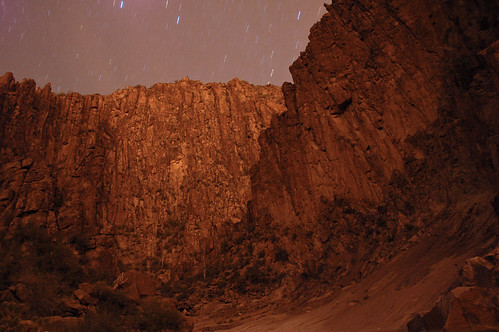 Lebarge Canyon night view