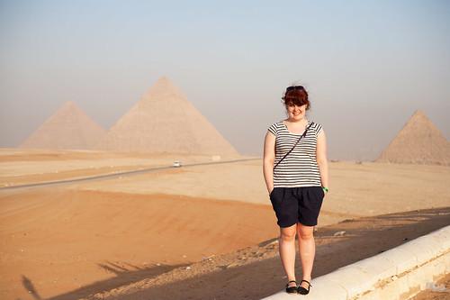 Pyramidane og eg