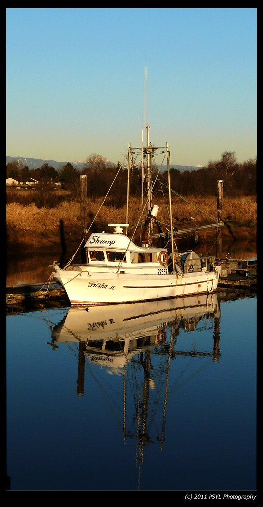 Trisha II, the Shrimp Boat