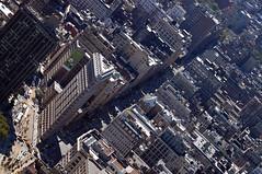 We were here (LeaSc) Tags: city nyc blue sky usa newyork streets buildings nikon view skyscrapers unitedstatesofamerica empirestatebuilding d100
