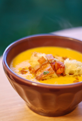Steaming Pumpkin Soup