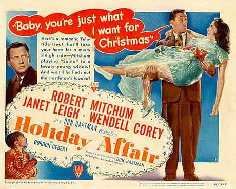Holiday Affair (1949), poster