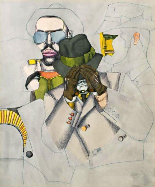 Lindner, Richard (1901-1978) - 1968 New York Men (Sotheby's New York, 2006)