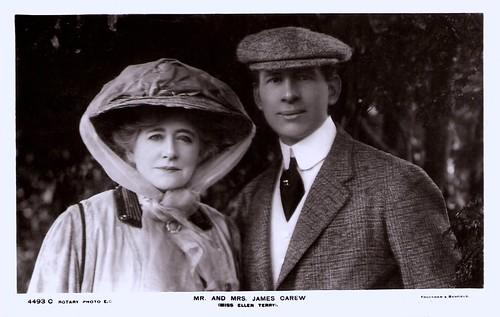 Ellen Terry, James Carew