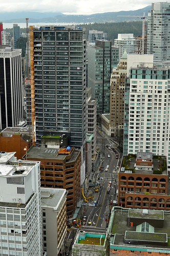 Vancouver Lookout at Harbour Centre