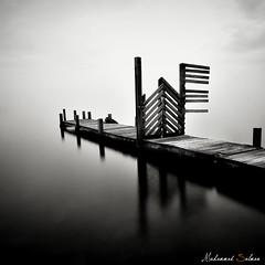 No Entrance (Muhammad Salman Photography) Tags: bw seascape nd110
