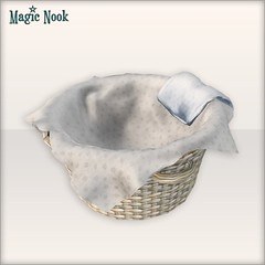 [MAGIC NOOK] Sleeping Basket Close Up (Ayumi Cassini) Tags: basket secondlife freebie magicnook theseasonshunt