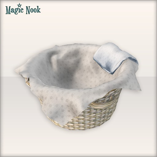 [MAGIC NOOK] Sleeping Basket Close Up