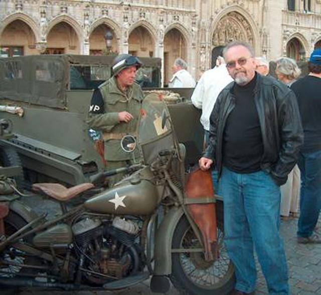 moto Harley Davidson de la Segunda Guerra Mundial