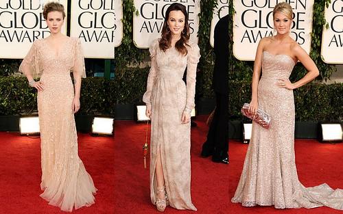 Beige Collage 2011 Golden Globes
