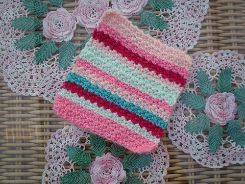 Bunny Mummy (UK) 'Gavins Stripes' No. 39 Jan Eaton, such a pretty Square Thank you!