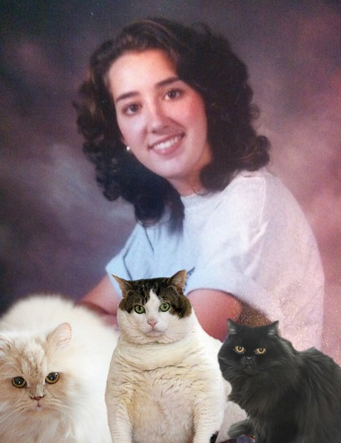 Senior photos made better with CatPaint app!