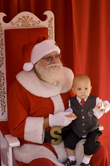 Santa and Logan 2010