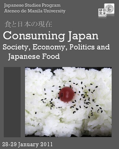 Consuming Japan Society Politics Economy and Japanese Food Ateneo de Manila