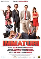 Immaturi (3 Italia) Tags: 3 cinema memphis tre h3g locandina mattioli ranieri raoulbova ambraangiolini bizzarri 3italia grandecinema3 immaturi bobulova