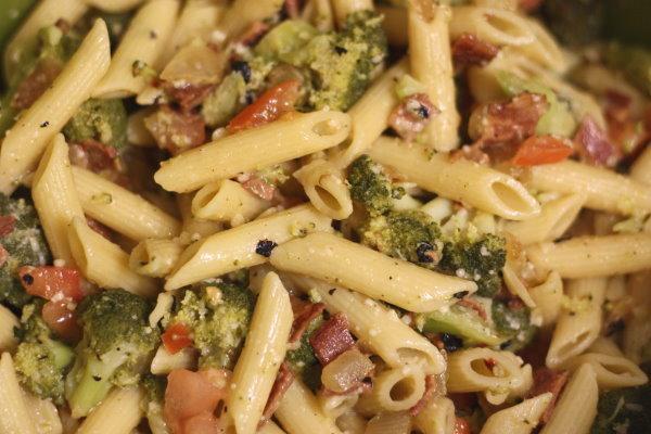 Broccoli, Bacon, & Penne - 2
