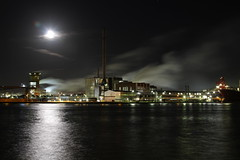 Yara-2 (angelo vlassenrood) Tags: industry water night canon eos steam heat 7d industrie 24105 sluiskil nachtyara