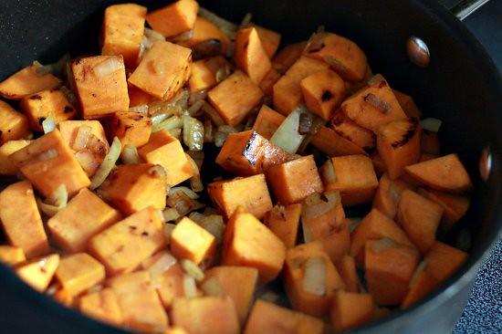 Pork and Sweet Potato Hash - The Noshery
