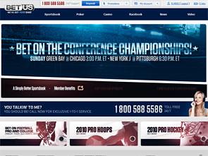 BetUS Sportsbook Home