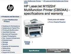HP = Bad LaserJet Printer & Bad Customer Service