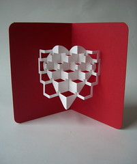 valentines (elod beregszaszi) Tags: show art love geometric architecture paper paperart origami gallery heart cut geometry space exhibition kinetic installation valentines kirigami invader spatial folded fold kiri popup proportion redheart crease papercut valentinesday invaders volume ratio paperwork oa optic papermodel foldable ori papersculpture origamic origamicarchitecture kinetica collapsible paperfold elod origamicard elodole popupology beregszaszi kiriorigami flatfoldable elodberegszaszi paperinvader paperinvaders paperinvasion foldablearhitecture structurekinetic origamicgreetingcard origamiccollectible origamicsculpture3d kineticard papercubed