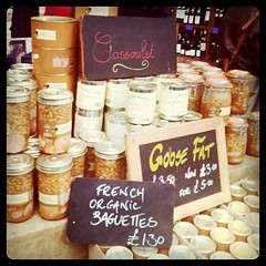 Borough Market (Eli Epstein) Tags: uk food london boroughmarket cassoulet goosefat