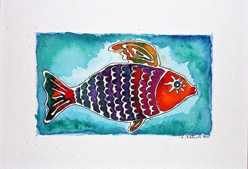 Batik Fish Take 2