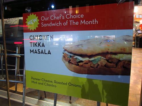 Metro Chicken Tikka Masala?