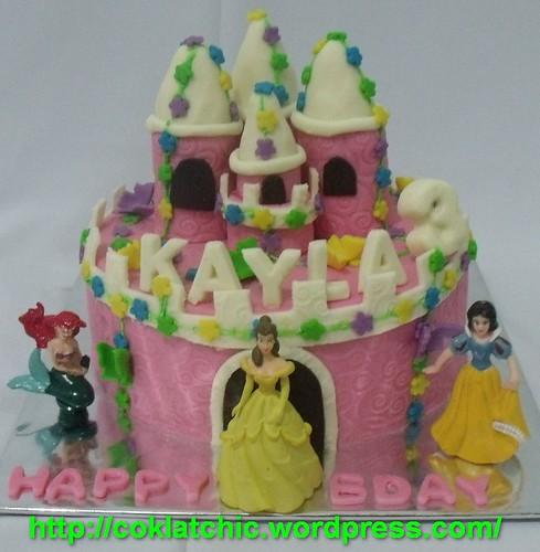 Castle Cake Kayla Jual Kue Ulang Tahun