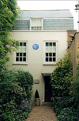 Lamb's Cottage (Hornbeam Arts) Tags: london edmonton lamb writer author charleslamb marylamb literarygeography