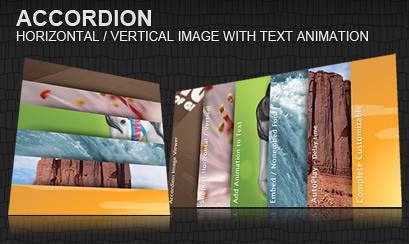 accordéon horizontal-vertical-image-texte-animation