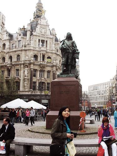 Me in Antwerp, Belgium 2009