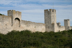 2010-09-05 Sweden, Gotland, Visby -The ramparts on the East side (Travel With Olga) Tags: city church island sweden churches medieval ramparts gotland viking merchant visby stmarys hanseatic 1525 stlars nationalgeographicexplorer