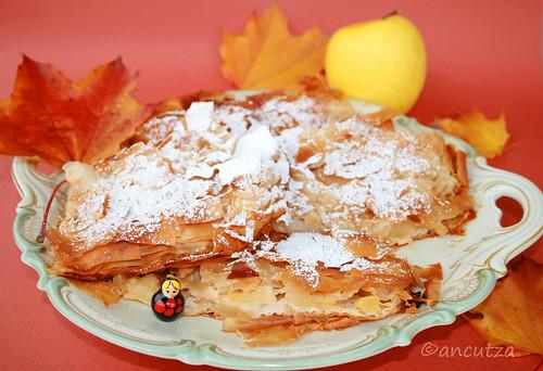Ricetta con foto Sfoglia alle mele con pasta fillo e spezie