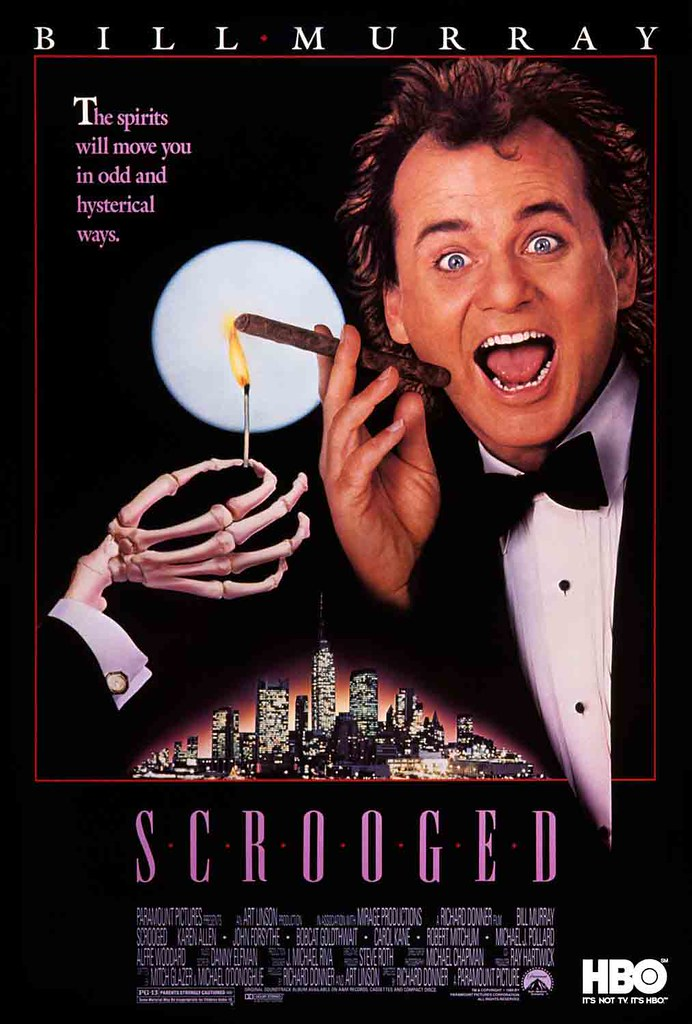 Scrooged only on HBO India