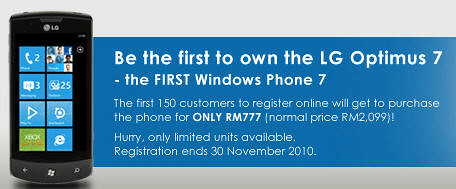 5203439295 80b60b8c27 Celcom Begin LG Optimus 7 Registration, Second Windows Phone 7 In Malaysia