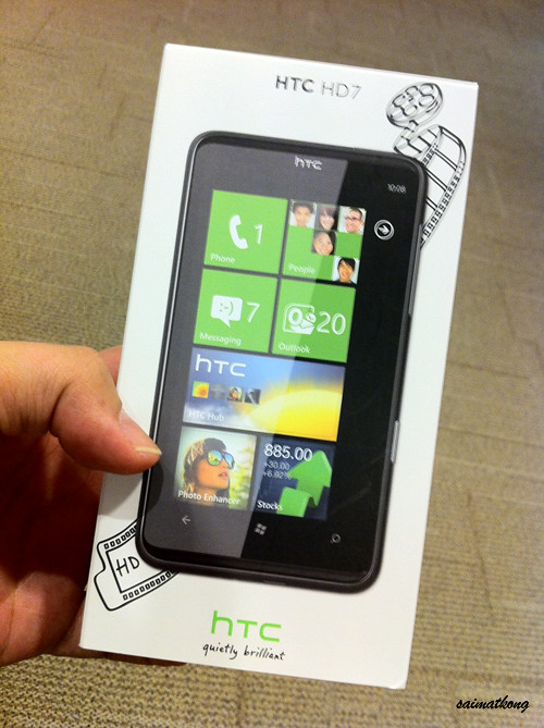 HTC HD7 – Microsoft's Windows Phone 7