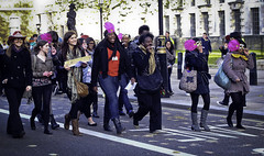 Student Handbag Revolt (Sven Loach) Tags: uk november england london canon demo britain photojournalism government coalition 2010 reportage conservatives g11 liberaldemocrats studentprotests budgetcuts svenloachportfolio