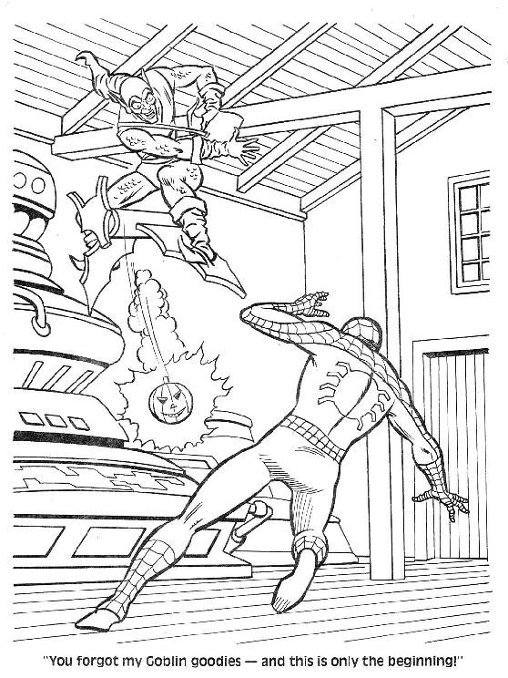Spider-Man Unmasked! Coloring Book043