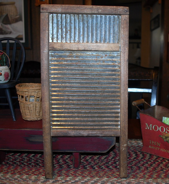 Antique finds washboard