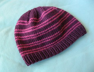 Ribbed Knit Hat Pattern On Circular Needles : Ravelry: Ellens Knit Hat pattern by Ellen Harpin