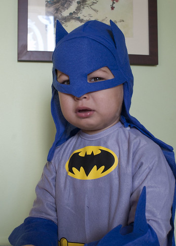 NATHAN HATES HIS BATMAN HOOD
