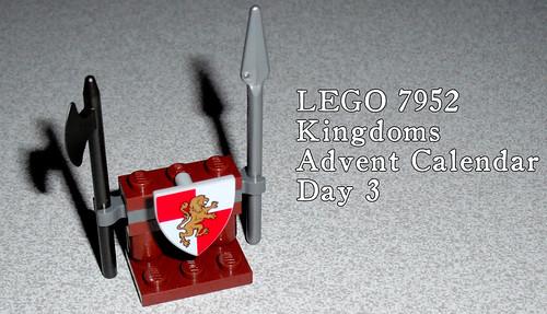 LEGO 7952 Kingdoms Advent Calendar - Day 3