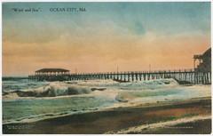 Pier in Storm (kschwarz20) Tags: storm history pier md maryland books oceancity kts ocmd