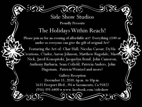 holiday announcement sideshow