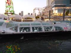"Water Bus ""Himiko"" (Panasonic FT2 Test Shoot) (jetalone) Tags: tokyo waterbus himiko toyosu   lalaporttoyosu"