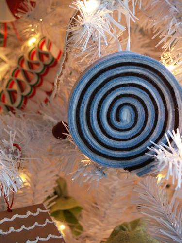 Rolled Candy Ornament
